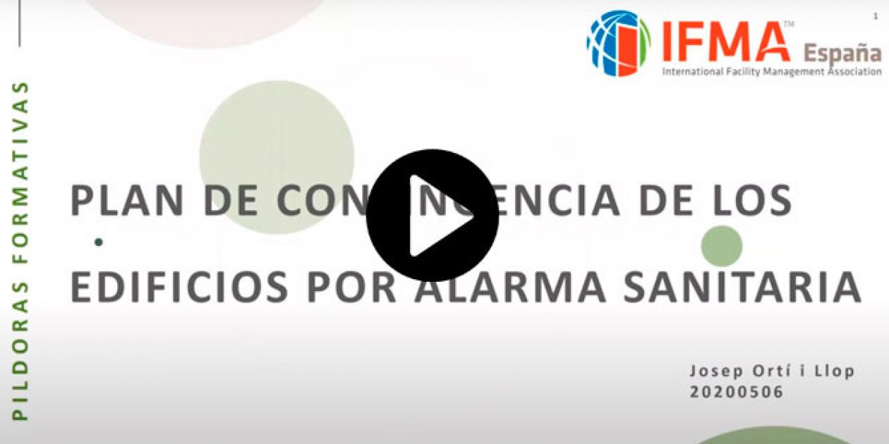 Plan de contingencia de los edificios por alarma sanitaria