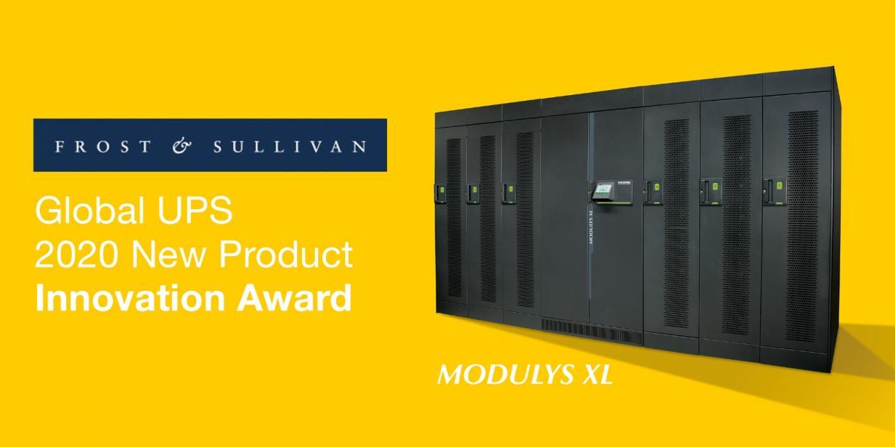 """El nuevo UPS de Somomec galardonado con el premio """"Innovación en nuevos productos"""" de Frost & Sullivan"""