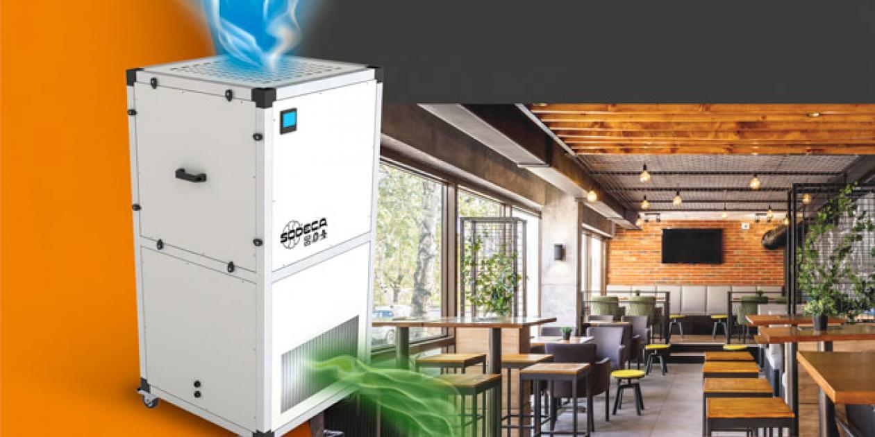 UPM/EC: Purificador de aire móvil