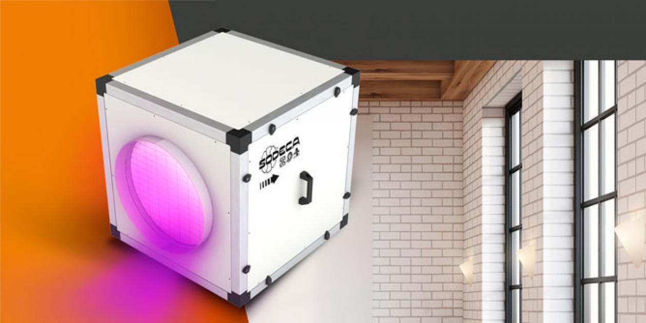 CJK/FILTER-EC: Purificador de aire