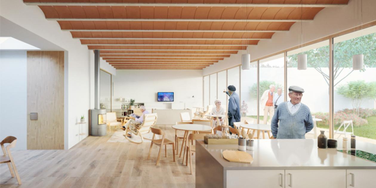 La arquitectura de las residencias: espacios para cuidar, no para curar
