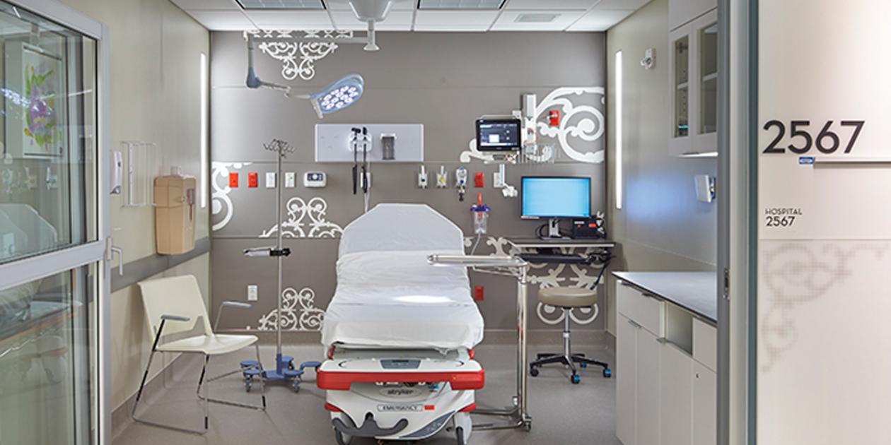 Diseño de espacios según los procedimientos médicos