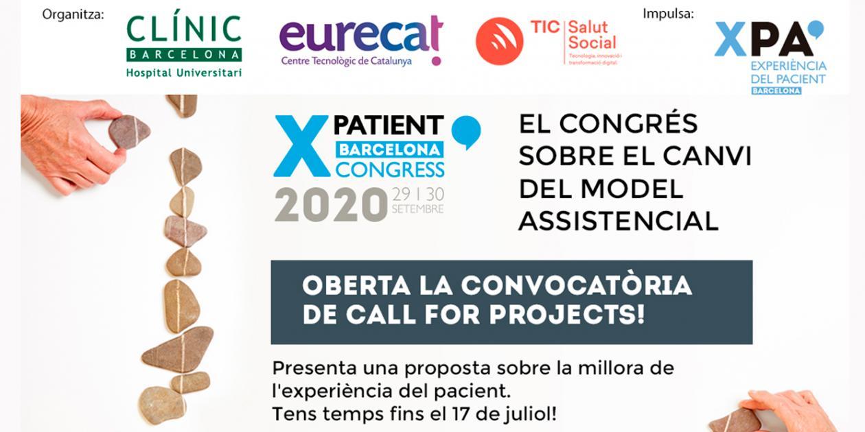 Convocatoria abierta para presentar proyectos al Congreso XPatient 2020