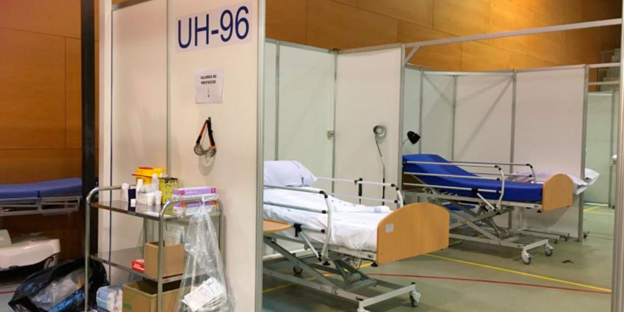 La conversión del Hospital del Mar de Barcelona por la pandemia de COVID-19