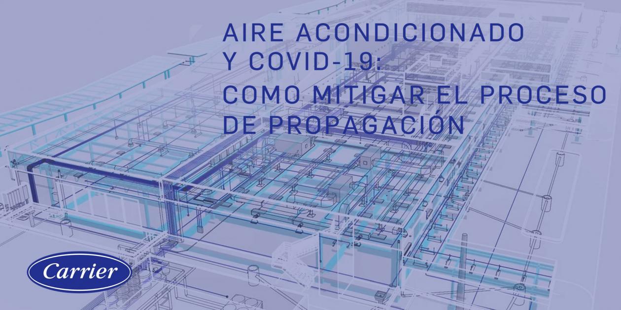 Aire acondicionado y COVID-19: Cómo mitigar el proceso de propagación