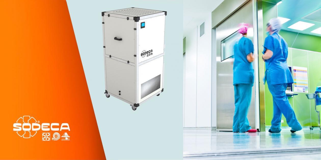 Retención e inactivación: aspectos fundamentales en equipos de purificación del aire