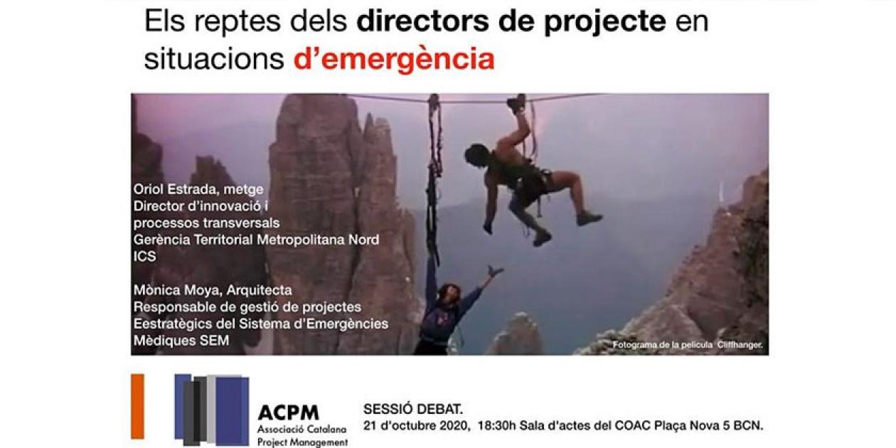 Los retos de los directores de proyectos en situaciones de emergencia