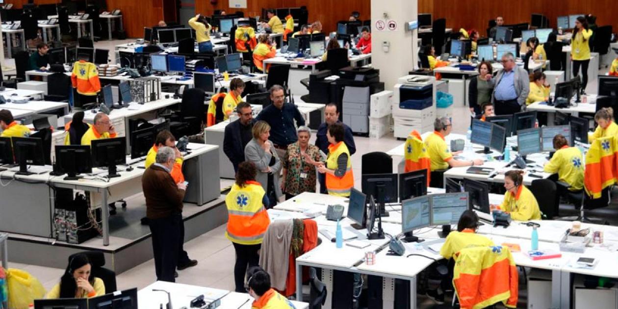 Logística de una emergencia. Actuaciones del SEM ante la pandemia de COVID-19