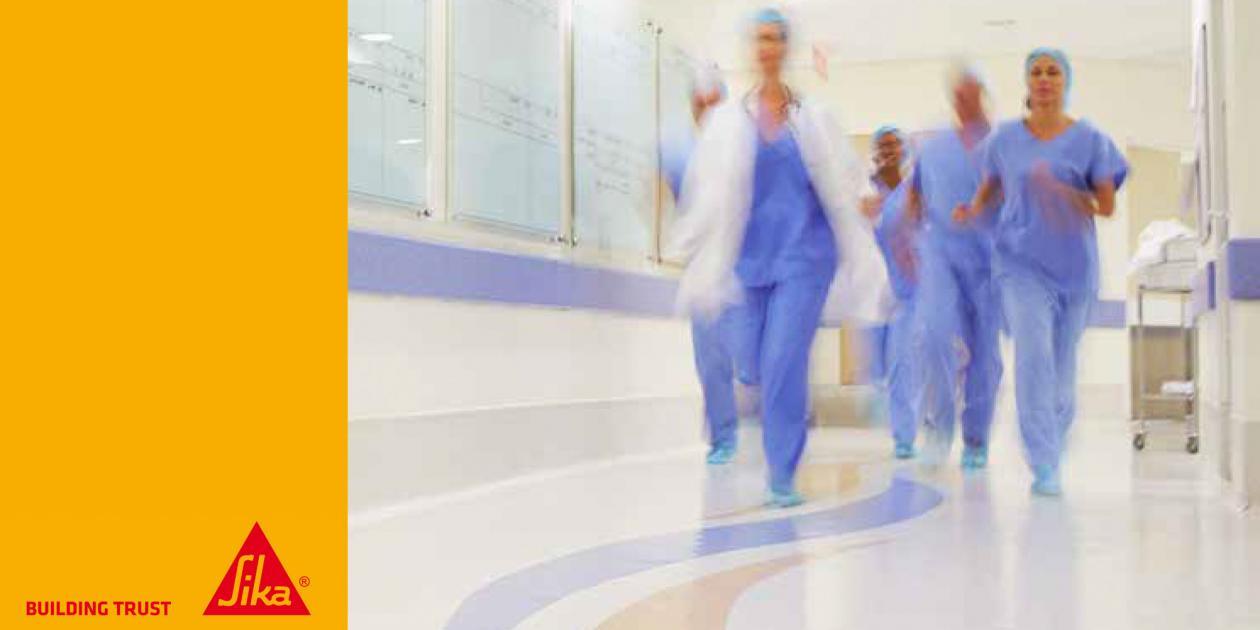 Selección de acabados interiores para centros de salud