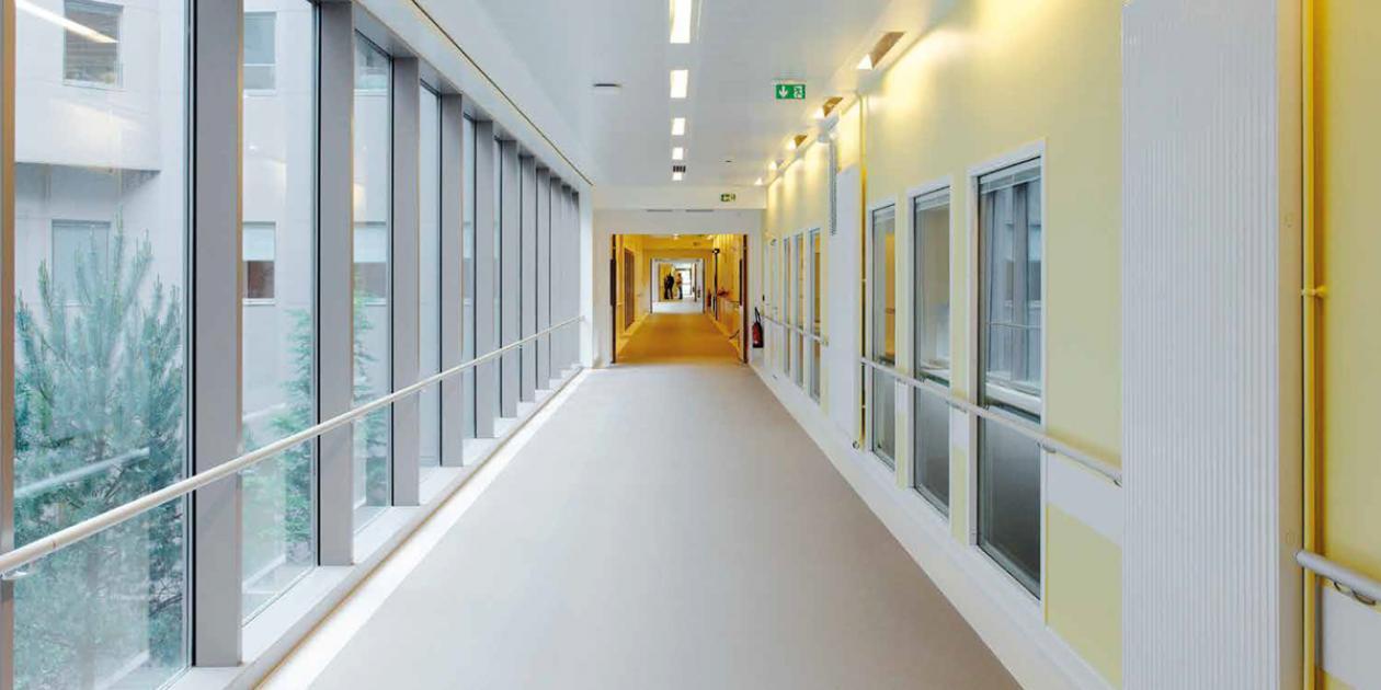 Cinco características de los pavimentos para hospitales