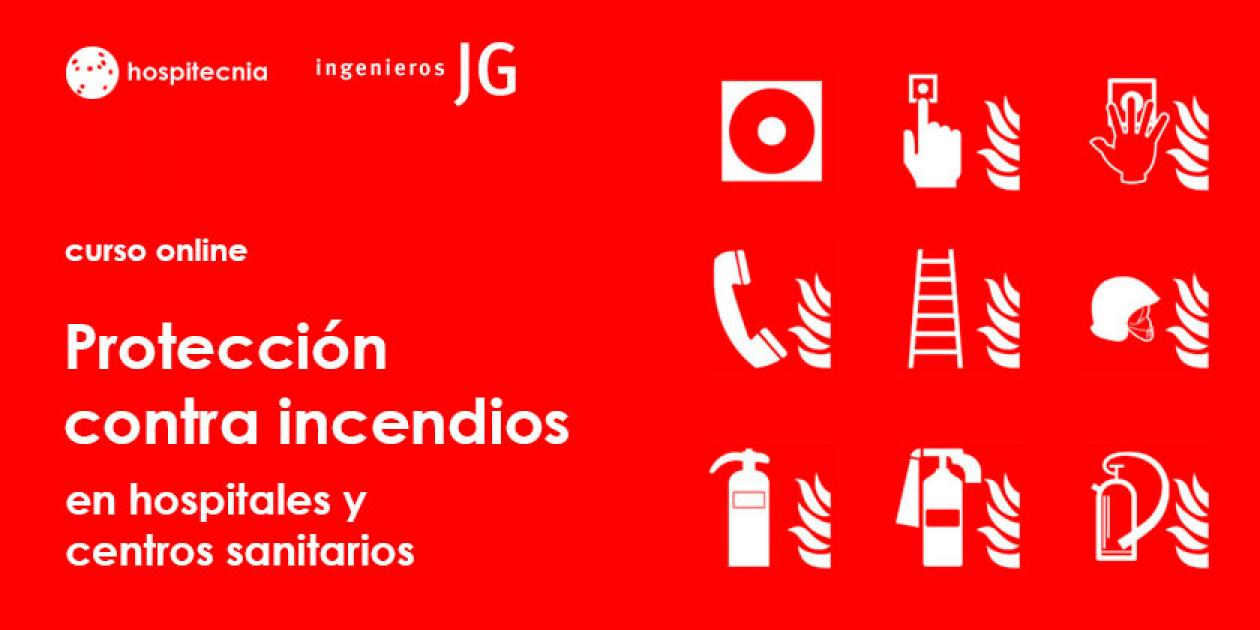 Hospitecnia - Curso online Protección contra incendios en hospitales y centros sanitarios