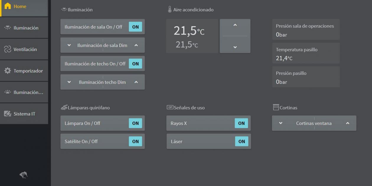 AFEISA/BENDER - CP9XX - Pantalla táctil para la gestión de las alarmas técnicas