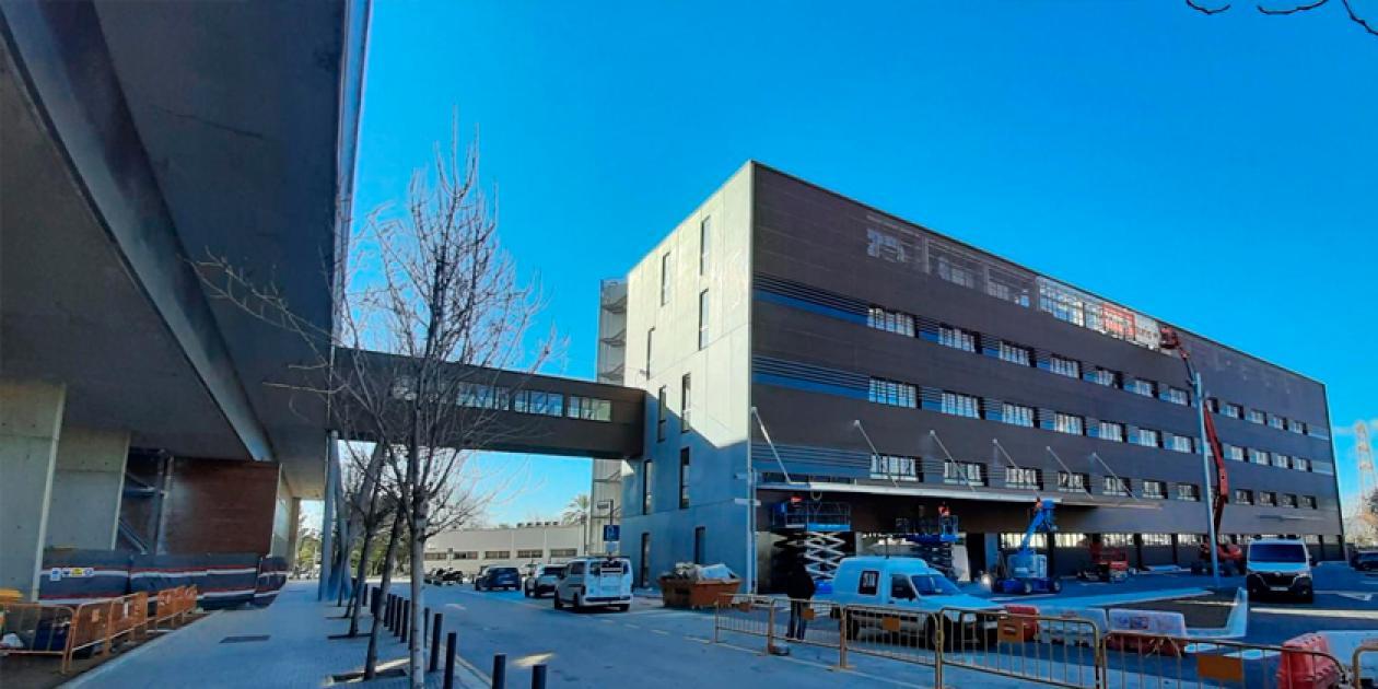 El espacio polivalente del Hospital Bellvitge para Covid-19 abre sus puertas