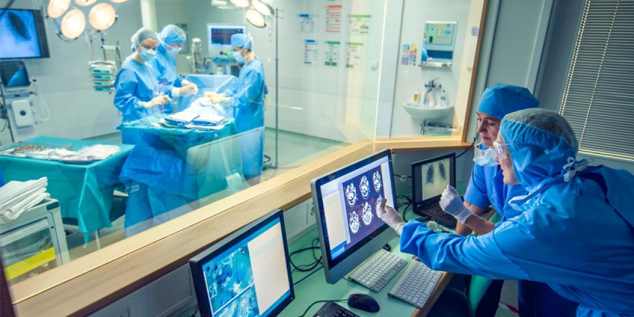 Respirar aire más limpio en los hospitales gracias a las tecnologías digitales