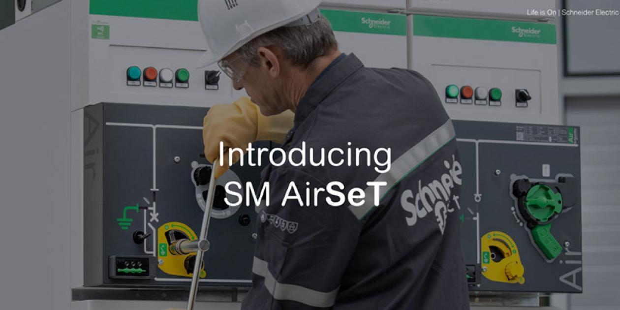 SM AirSeT- Tecnología sin SF6 para celdas de media tensión