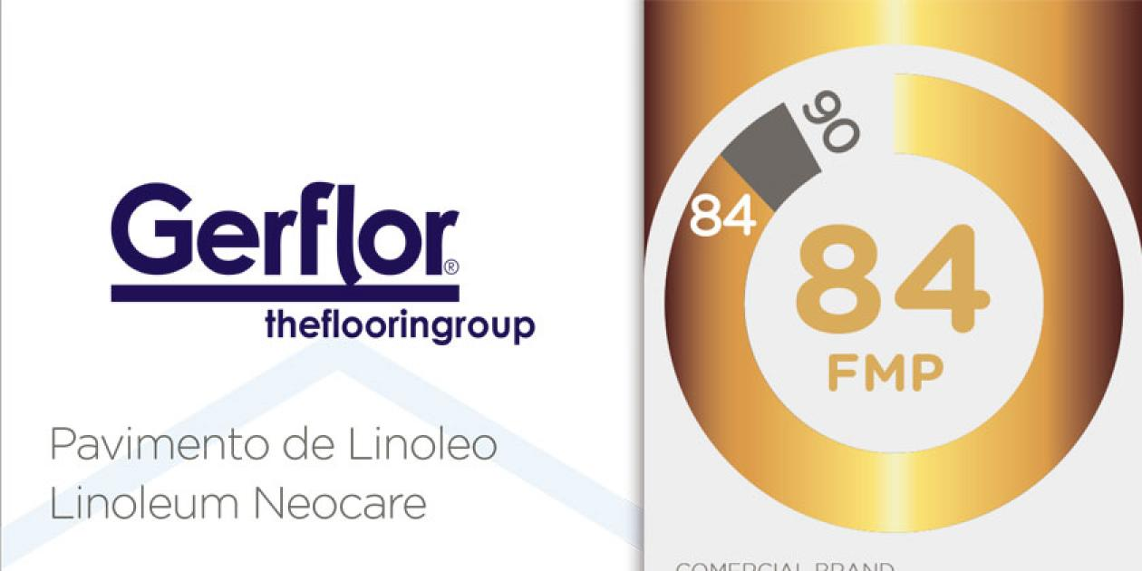 Gerflor obtiene la medalla de ORO de la Organización Friendly Materials