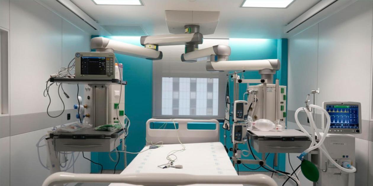 Renovación y ampliación de la UCI del Hospital Ramón y Cajal
