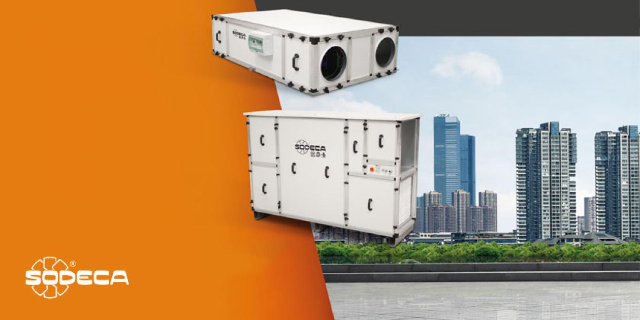 SODECA amplia su catalogo de soluciones con los nuevos recuperadores de calor eficientes