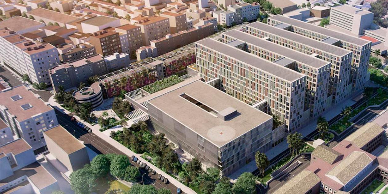 Los primeros diseños del tercer hospital de Málaga