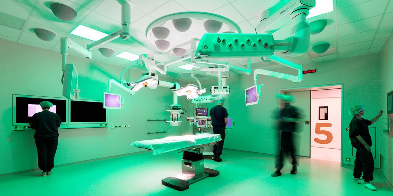 Complejo quirúrgico del Hospital Flevo en Almere
