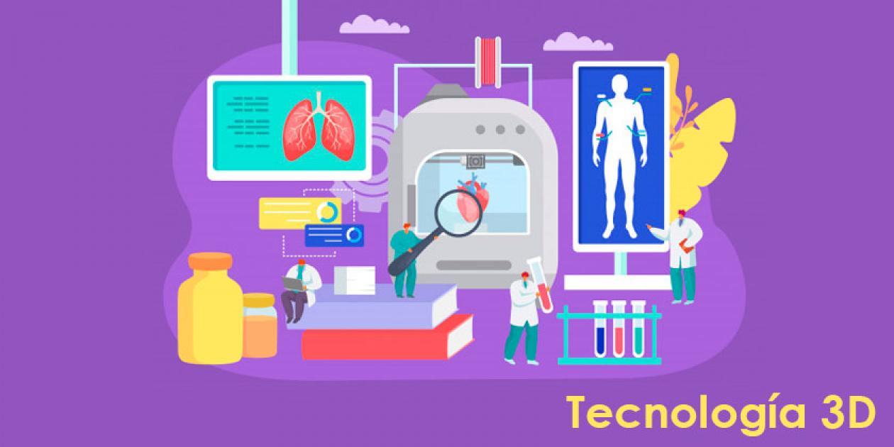 La tecnología 3D al servicio de la medicina personalizada