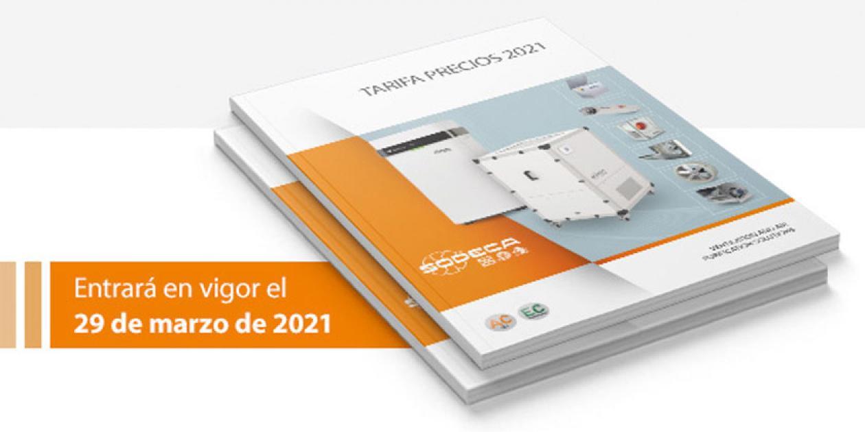 SODECA presenta nueva tarifa de precios