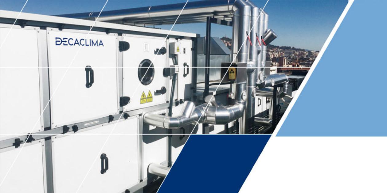 DECACLIMA presenta un amplio catálogo en soluciones para climatización y calidad de aire interior