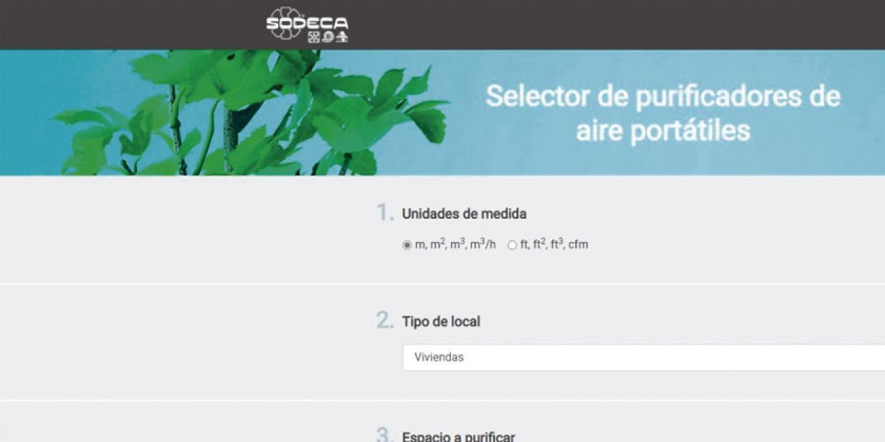 SODECA presenta su nueva web app