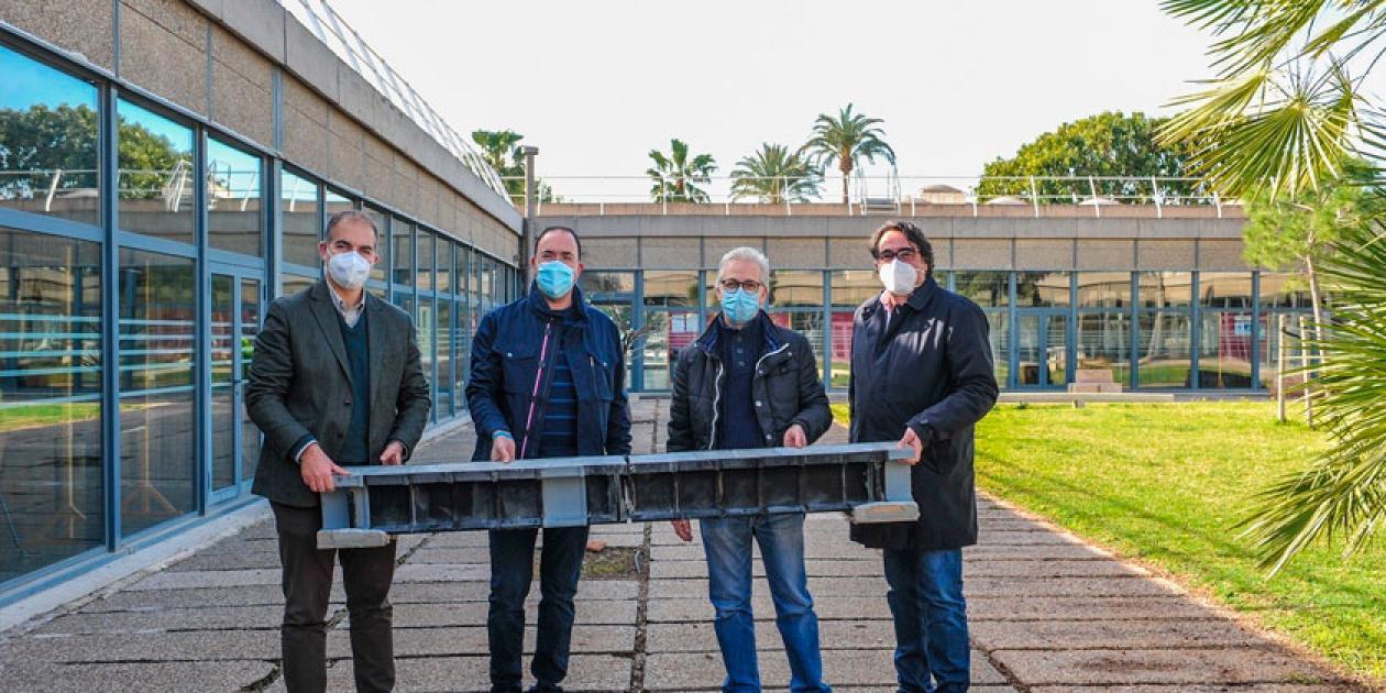 Investigadores de la UPV idean un sistema para la fabricación de vigas a través de impresoras 3D