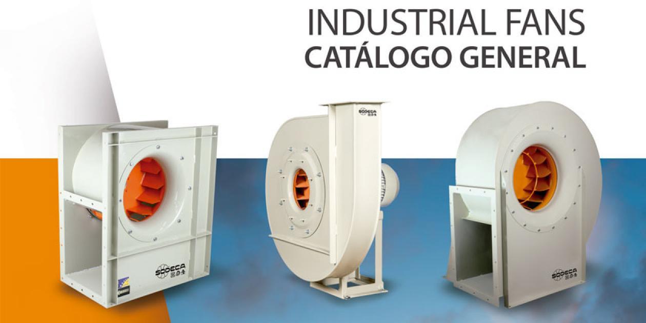 SODECA - Catálogo general industrial fans