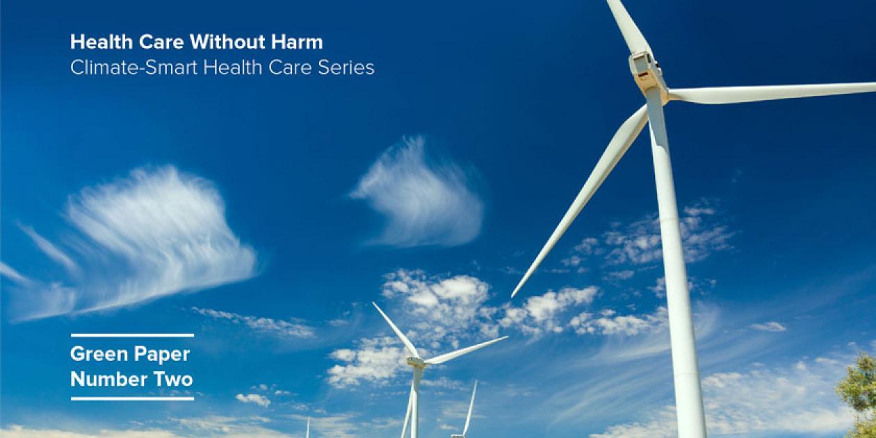 Guía mundial para la descarbonización de la sanidad