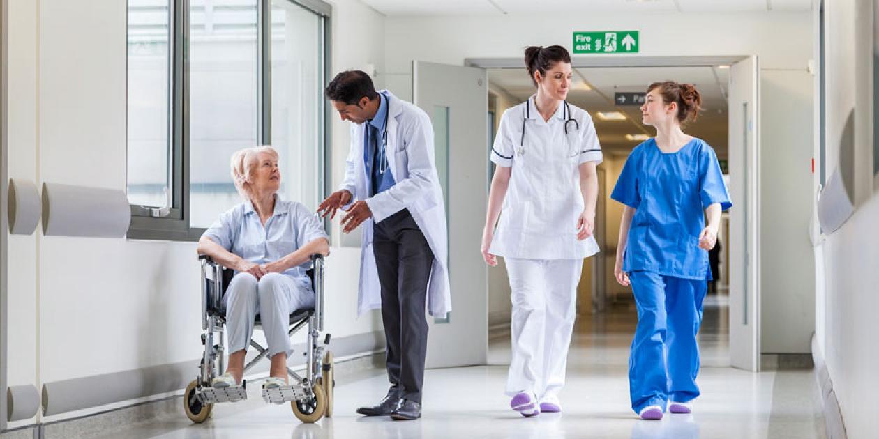 Un hospital con baja huella de carbono