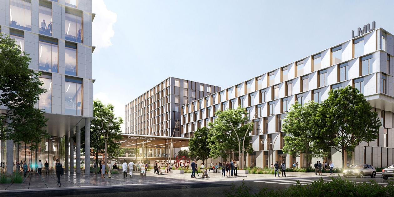 Campus Großhadern en Munich