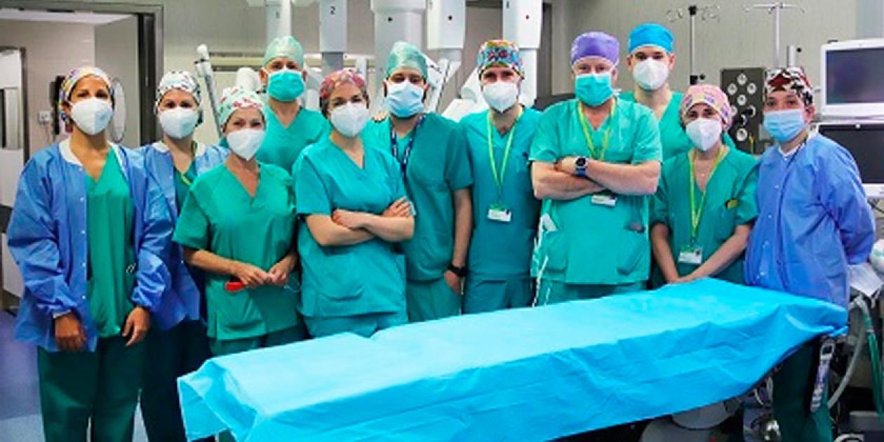 El Hospital Germans Trias i Pujol consolida su programa pionero en cirugía robótica hepato-bilio-pancreática