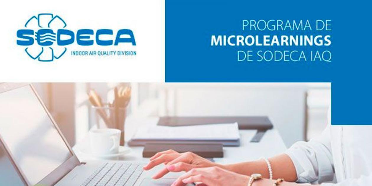 Lanzamiento del programa Microlearnings sobre calidad del aire interior de SODECA IAQ