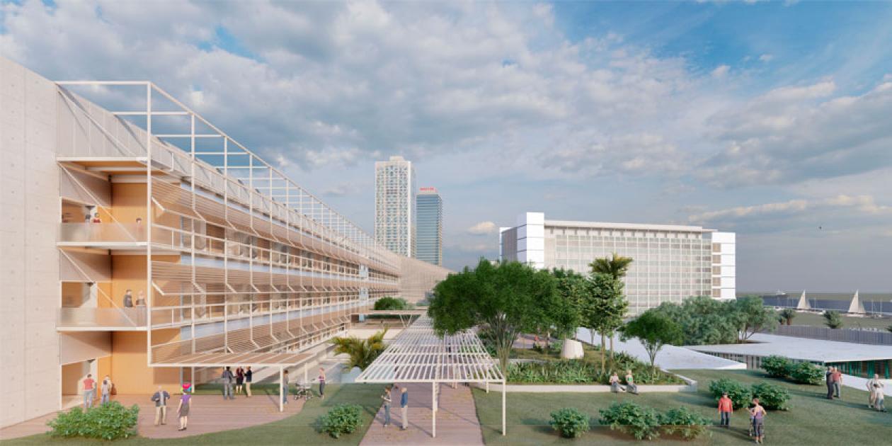 Se inicia la segunda fase de ampliación y reforma del Hospital del Mar de Barcelona