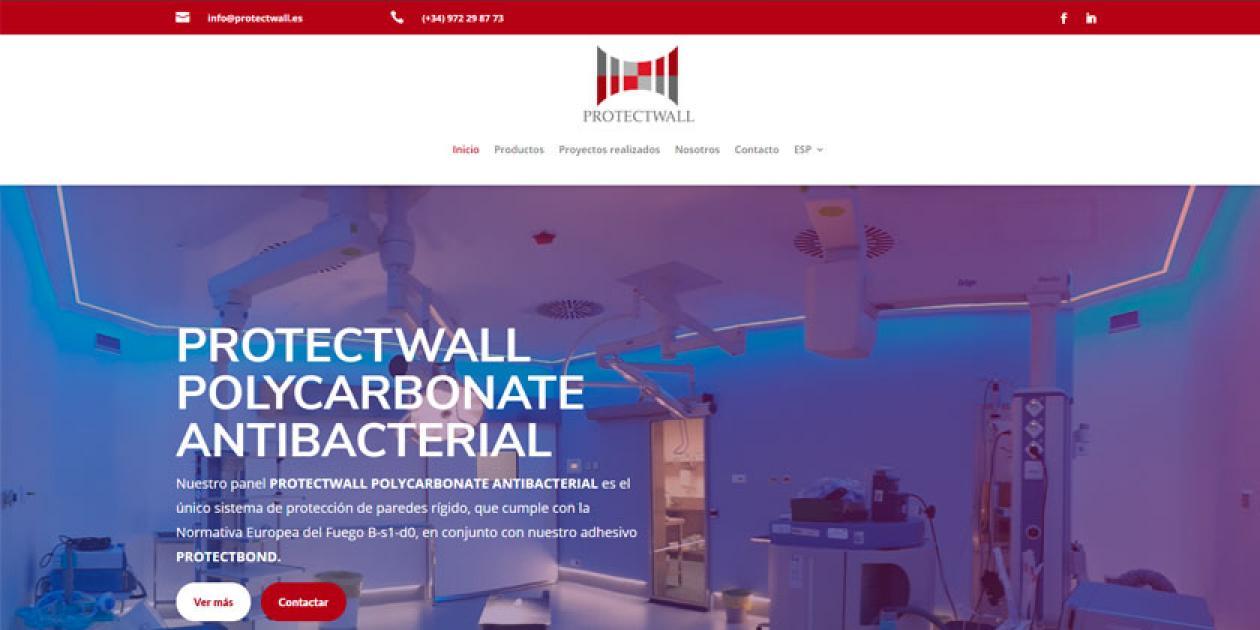 Protectwall estrena nuevo sitio web