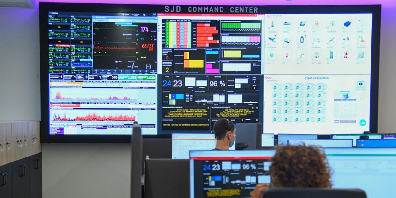 El Hospital Sant Joan de Déu estrena un centro para regular el flujo de pacientes