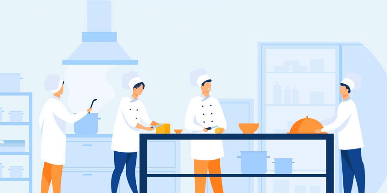 Desarrollo del proyecto de una nueva cocina en un gran hospital