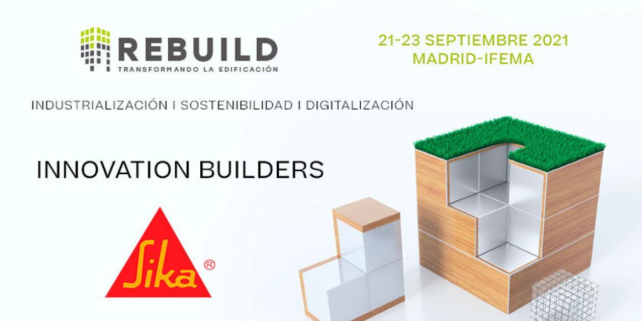 Ana Carmona, responsable mundial de sostenibilidad de SIKA estará presente en Rebuild