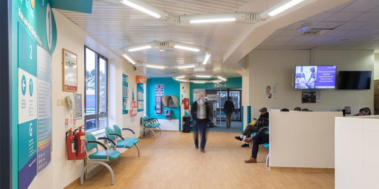 Altro ha participado en la reforma de la Unidad de maternidad del Hospital Royal de Cornwall