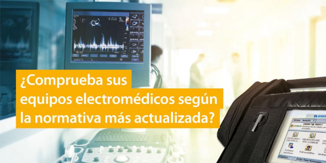 Bender celebra su 75 aniversario con una oferta en su paquete integral para la comprobación de equipos electro médicos