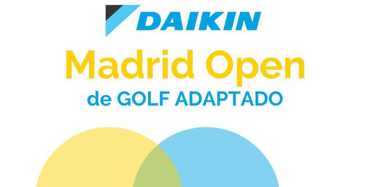 Daikin impulsa el deporte inclusivo en el Madrid Open de Golf Adaptado