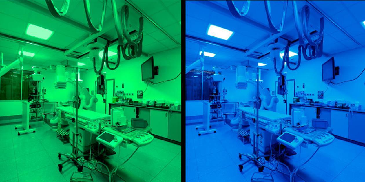 Iluminación espectralmente adaptable. SIMON 720 TNW-SPD