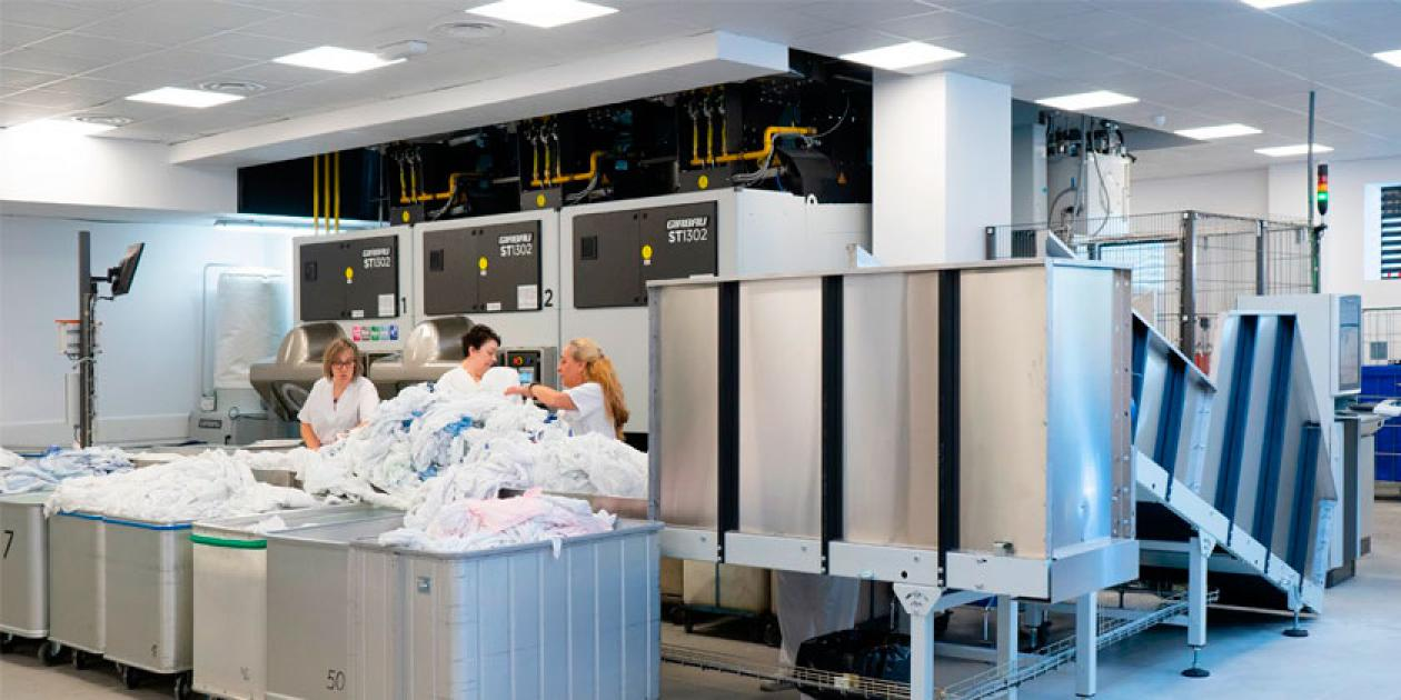 Girbau renueva por completo la lavandería del Hospital Naval en Ferrol a través de un proyecto llaves en mano