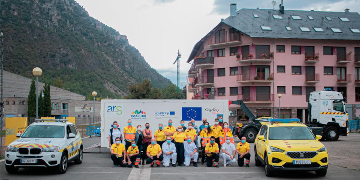 El SEM participa en un proyecto internacional para mejorar la atención sanitaria en ambos lados de los Pirineos