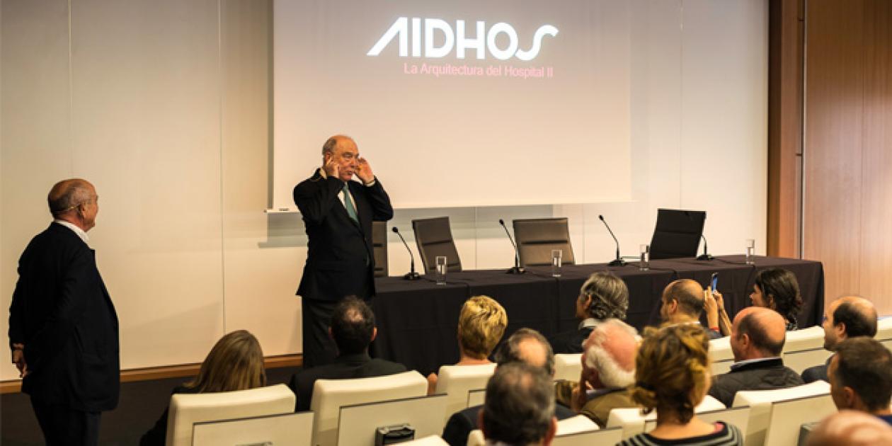 AIDHOS presenta en Madrid su libro 'La Arquitectura del Hospital II'