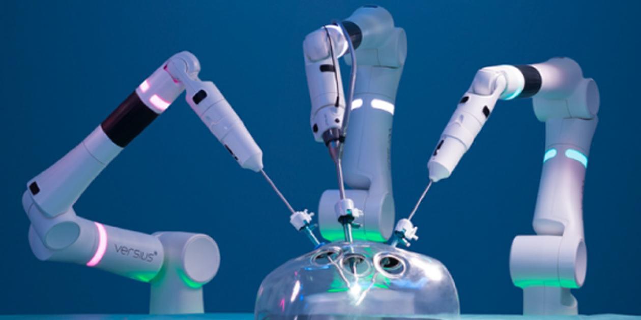 Llega al NHS el nuevo sistema de cirugía robótica Versius