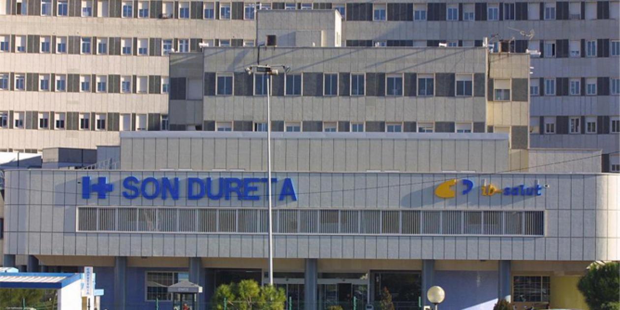 Obras de demolición de parte de los edificios del antiguo hospital de Son Dureta