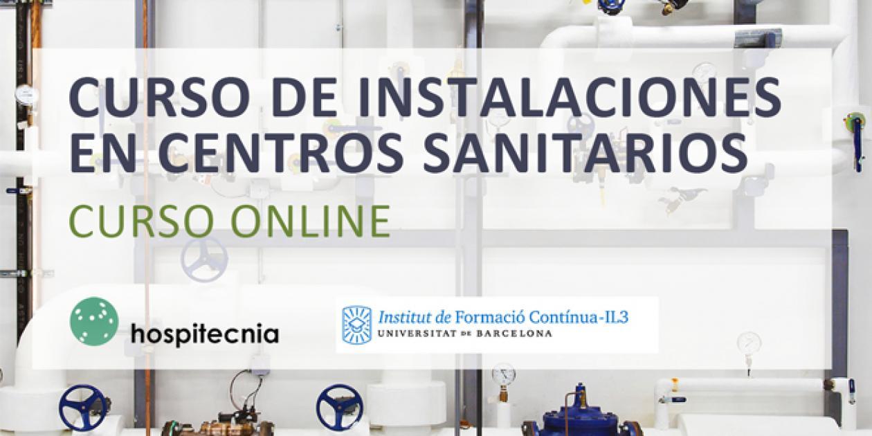 Hospitecnia - Curso de instalaciones en centros sanitarios online